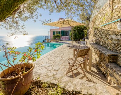 Three-room sea view with swimming pool
